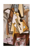 Guitar on a Chair Giclée par Juan Gris