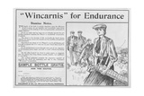 """Wincarnis"" for Endurance  Advertisement from 'The Graphic'  October 27th 1906"