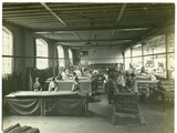 Finishing Room  Chenille Section  Carpet Factory  1923