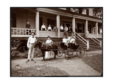 The Janer Family  Staff and Guests at Janer's Pavilion Hotel  Red Bank  New Jersey  1903