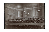 Full Orchestra on Stage  New York  c1912