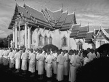 Novices at Wat Benjamabopit