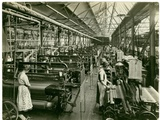Chenille Weft Weaving  Carpet Factory  1923