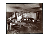 The Kitchen at Janer's Pavilion Hotel  Red Bank  New Jersey  1903
