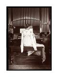 Portrait of Mrs I M Clark at an Organ  1904