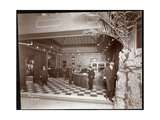 The Lobby and Registration Desk at the Hotel Victoria  1900 or 1901
