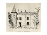 Chateau de Castelmore  from 'Memoires de Charles de Batz-Castelmore Comte d'Artagnan'  Published…