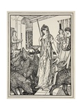 Circe Sends the Swine (The Companions of Ulysses) to the Styes  Frontispiece from 'Tales of the…