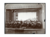 Young Men's Symphony Orchestra on Stage  New York  c1901
