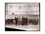 String Section Behind Male and Female Vocalists  1905