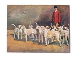 Master and Hounds  Illustration from 'Hounds'