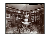A Dining Room in the Mrs Leslie Carter Residence in New York  1903
