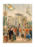 The Persian Pavilion at the Universal Exhibition of 1900  Paris  Illustration from 'Le Petit…