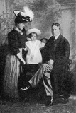 William Randolf Hearst and His Family  Published in 'The Graphic' October 27th 1906