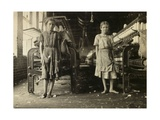Untitled (Two Girls in a Factory)  c1908-12