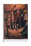 "So He Said ""Here's Jim Hawkins  Shiver My Timbers""  Illustration from 'Treasure Island' by Robert…"