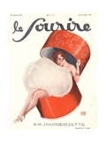Front Cover of 'Le Sourire'  January 1929