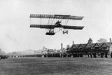 Grahame White Flying His Machine from the Ranelagh Club  the Same Year as the Manchester Flight …