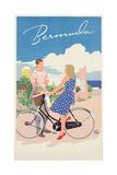 Poster Advertising Bermuda  c1956