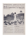 Front Page of the 'International Surrealist Bulletin' No 4  September 1936