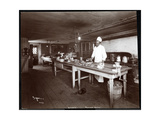 Chef in the Kitchen at Janer's Pavilion Hotel  Red Bank  New Jersey  1903