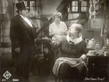 "Still from the Film ""The Blue Angel"" with Marlene Dietrich  Kurt Gerron and Emil Jannings  1930"