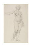 Standing Female Nude  1914