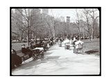 View of Women with Baby Carriages in Madison Square Park  New York  1901
