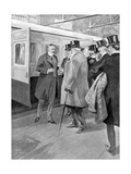 The Reception of Lord Milner  Illustration from 'The King'  June 1st 1901