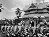 Thrissur Pooram  Kerala  1980