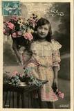 'Bonne Fete' Postcard  1908
