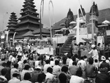 A Grand Ceremony at Pura Besakih  1980