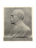 Joseph Rudyard Kipling  a Plaque by Patrick Synge-Hutchison  from 'Something of Myself'  by…