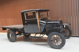 Black Ford Model T Pickup Truck from c1920