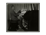 African American Man Playing the Organ at the New York Association for the Blind  111 East 59th…
