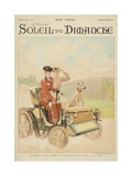 End of Summertime  the Ride  from the Cover of 'Soleil Du Dimanche'  Sunday 20th October 1901