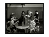 Children Playing in the Playroom at the New York Association for the Blind  111 East 59th Street …