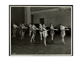 Mrs Dean and Eight Dancing Girls in the Gymnasium of the New York Association for the Blind  111…