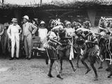 Girls from the Bundu Tribe Dancing before the Prince  Freetown  Sierra Leone  1925