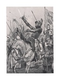 The Death of Henry Hotspur  21st July 1403  Illustration from 'British Battles on Land and Sea' …