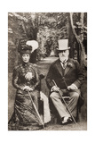 King Edward VII and Queen Alexandra  Illustration from 'King Edward and His Times' by Andre…