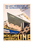 Advertisement for the Holland America Line  c1932