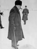 Portrait of Winston Churchill  1942-45