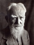 Portrait of George Bernard Shaw  February 1933