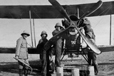 Aircraft Undergoing Repairs  1916