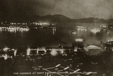 The Harbour at Night Looking Towards Kowloon  Hong Kong  from an Album of Photographs Relating to…