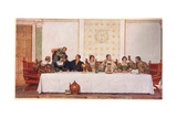 The Wedding Feast  Illustration from 'The Merchant of Venice'  c1910