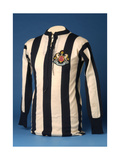 Newcastle United Jersey from the 1911 FA World Cup Final  1911