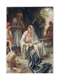 Priscilla  Illustration from 'Women of the Bible'  Published by the Religious Tract Society  1927