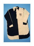 Black and White Football Shirt  1930s